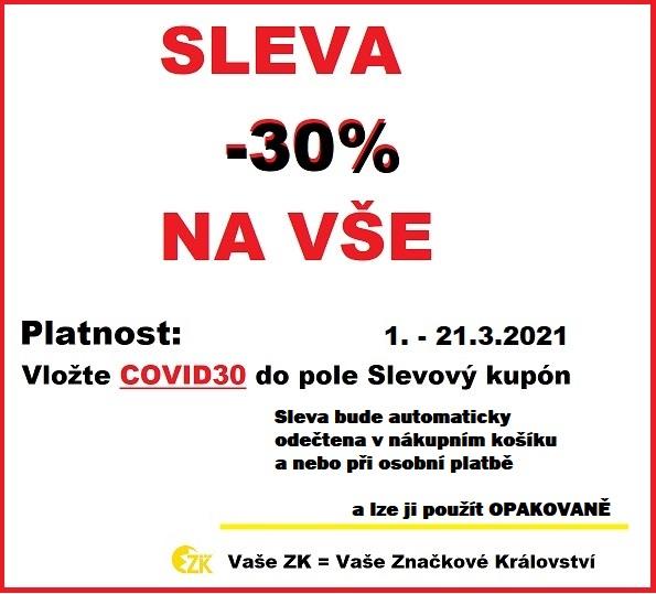 COVID sleva -30%