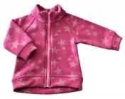 Kojenecký kabátek star růžová vel. 56