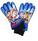 Nepromokavé rukavice Tlapková Patrola prstové vel. 7-8 roků