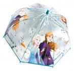 Průhledný deštník disney Frozen Ledové království