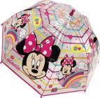 Průhledný deštník disney Minnie Mouse