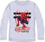 Triko Spiderman dl.rukáv ve. 116 šedé