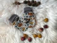 Zateplené rukavičky pro miminka Kamarádi z Lesa vel. 1 ( 6-12m )